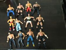 WCW Toybiz wrestling lot bill Goldberg savage hulk hogan wwe nwo wrath mattel jr