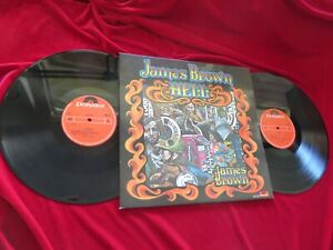 JAMES BROWN  Hell  2 LP-Set  Dutch Polydor 1974 Orig.  Vinyl:mint(-)/Cover:mint-
