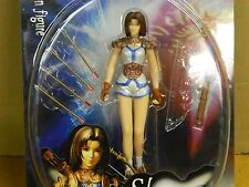 "BLUE BOX The Legend Of The Dragoon SHANA # 34259 Ch 2000 7"" Action Figure VHTF:"