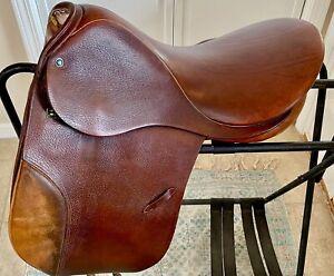 "Stubben ""Tristan"" Dressage Saddle, 18"" Seat, Medium Tree, Used"