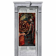 """65"""" Halloween CREEPY CARNIVAL Party SIDE SHOW Door Poster Banner Decoration"""