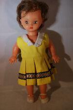 poupee Bella brunette doll yeux brun 28 cm 60's