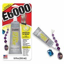 E6000 Jewelry & Bead 1oz w/ 4 Tips Clear Adhesive Permanent Glue Rhinestone