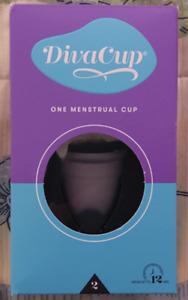DivaCup - Menstrual Cup - Feminine Hygiene  - BPA Free- Leak-Free - Model 2
