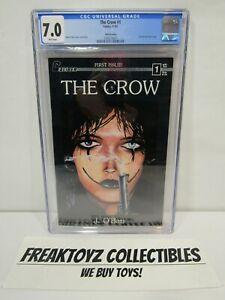 The Crow #1 CGC Universal Grade 7.0 Tundra Caliber 1992 Third Printing