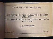 Steam locomotives manufactured in Romania (1872 - 1960) album FERROVIE Bellu