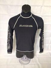 Dakine rash guard swim wear shirt boys medium black