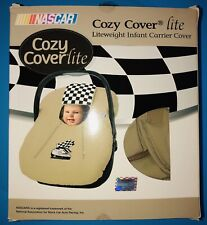 Nascar ~Cozy Cover Lite~ Lightweight Infant Carrier Cover New In Box