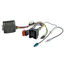 Radio Adapter CAN BUS AUDI VW FORD SEAT SKODA OPEL Interface Komfort Zündung