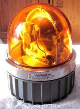 Federal Signal 371-120A Revolving Light 200 Watt 120 Volt with Amber Glass Dome