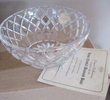 LENOX Crystal Diamond 5.0 inch  Bowl Czech Republic Potporri Candles flowers NIB