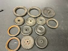 Assorted LOT of Buddy L and Other Pressed Steel Toy Tires Repair/Replace/Restore