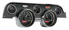 Dakota Digital 67 68 Ford Mustang Analog Gauges Black Alloy Red VHX-67F-MUS-K-R