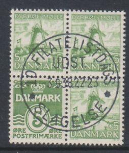 Dänemark - 1937,5 Ore Numeral + Leuchtturm Broschüre Im Bereich - F/U - Sg 268bb