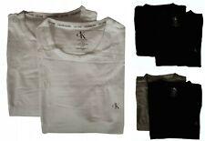 Paquete 2 t-shirt bipack camiseta cuello redondo manga corta hombre CK CALVIN KL