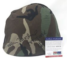 MATTHEW MODINE Signed FULL METAL JACKET Vietnam Army HELMET Pvt JT Joker PSA/DNA