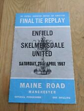 More details for manchester city replay fa amateur cup final 1967 enfield skelmersdale united