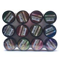 Mia Secret Fruity Acrylic Powder 1/4 Oz Each Bottle Assortment of 12 Colors