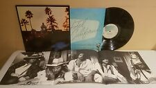 Eagles Hotel California LP 1976 Asylum Records 6E-103 Gatefold (EX Vinyl) Poster