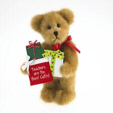 "Boyds Plush Teacher Bear ~ ""Wisdom"" ~ 8"" ~ 2011 - NEW"