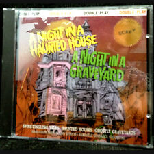 BEST Halloween CD-NIGHT IN A HAUNTED HOUSE-NIGHT IN GRAVEYARD-Narrated Story-NEW