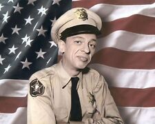 "DON KNOTTS BARNEY FIFE THE ANDY GRIFFITH SHOW 1960 10x8"" HAND COLOR TINTED PHOTO"