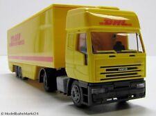 Rietze IVECO EUROSTAR DHL Express & Logistics scala 1:87 h0-SCATOLA ORIGINALE