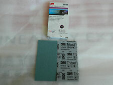 """NEW BOX 3M 30189 TRIZACT HOOKIT 5000 GRIT ABRASIVE FOAM SHEETS 2-3/4"""" x 5-1/2"""""""
