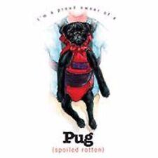 Black Pug  Funny Tote