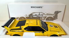 Véhicules miniatures jaunes MINICHAMPS BMW
