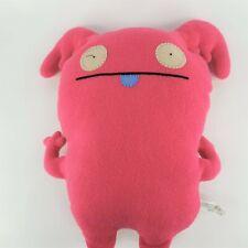 Uglydolls UPPY Pretty Ugly Pink Plush Stuffed Animal Monster Doll Retired 2009