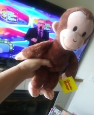 """New ListingNew Curious George Monkey Brown 16"""" Plush Kohls Cares for Kids"""