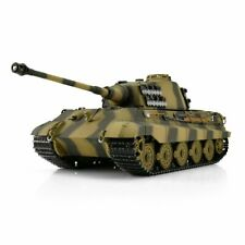 Torro 1 16 RC Panzer Königstiger 6mm BB 360° Turmdrehung 1112200600 Holzkiste
