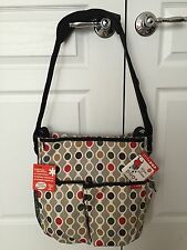 SKIP*HOP DUO Deluxe Edition diaper bag - Wave Dot (New With Tags)