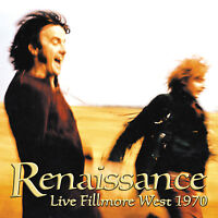 RENAISSANCE New Sealed 2016 UNRELEASED 1970 FILLMORE WEST LIVE CONCERT CD