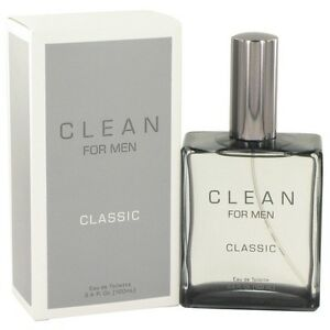 * CLEAN CLASSIC for MEN by FUSION * 3.3/3.4 oz (100 ml) EDT Spray * NEW in BOX