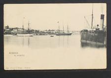 2228.-ALMERIA -594 Al Puerto (1907) (enviada a Venecia)