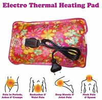 Electric Heating Gel Pad - Heat Therapy For Neck Shoulder Back Pain Relief Knee