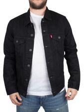 Cappotti e giacche da uomo bomber , harrington neri marca Levi ' s