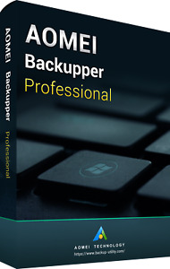 AOMEI Backupper Professional V6.3 | Download | License Key | Instant Delivery