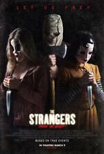 "THE STRANGERS PREY AT NIGHT 13""x19"" Original Promo Movie Poster MINT 2018 Horror"
