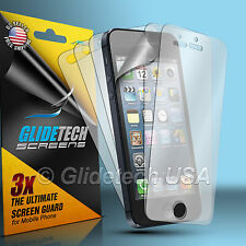 6x Full = 3 front + 3 back HD Clear Screen Display Protector for Apple iPhone 5