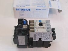 MITSUBISHI MAGNETIC SWITCH CONTACTOR MSO-N11 COIL 200VAC .75KW HEATER 3.6A
