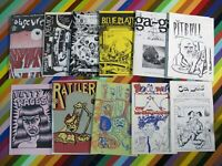 vtg 1980s underground mini comic - mixed med. size Panter Fleener Shaw +