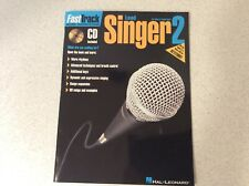 FastTrack Lead Singer Method 2 Vocal Lessons Learn How to Sing Book and CD