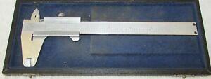 "Vintage Helios 6"" Caliper in Original Case ~ Made in Germany c"