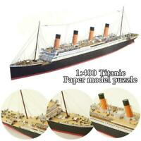 High quality Titanic 3D Paper Model Fly 153 - Titanic Model RMS Kit Paper N2X6