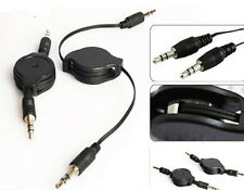 3.5mm Cable Sell Black Aux Retractable Auxiliary Cord For iPod Car MP3 HS56 ONE