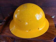 New Listingmsa Fiberglass Skullgard Safety Full Brim Hard Hat Helmet