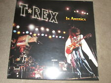T REX / MARC BOLAN - IN AMERICA - COLOURED VINYL LP RECORD